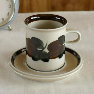 アラビア(ARABIA)のArabiaアラビア ルイージャ コーヒーカップ&s 北欧ヴィンテージ食器 陶器(グラス/カップ)