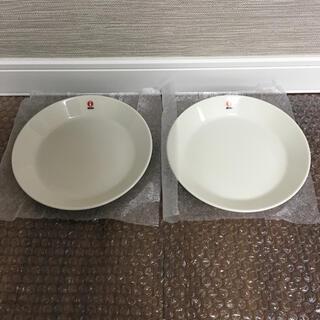 イッタラ(iittala)の【新品】イッタラ ティーマ ホワイト 白 プレート17cm 2枚(食器)