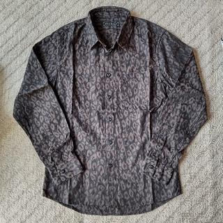 カスタムカルチャー(CUSTOM CULTURE)のCUSTOM CULTURE  レオパードスカルジャガードシャツ(シャツ)