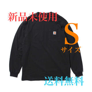 carhartt - 【新品未使用】カーハート ポケ付 ロンT ブラックSサイズ