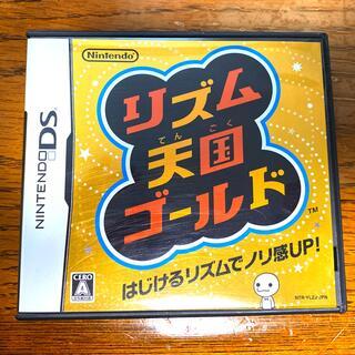 ニンテンドウ(任天堂)の【DSソフト】リズム天国ゴールド DS(その他)