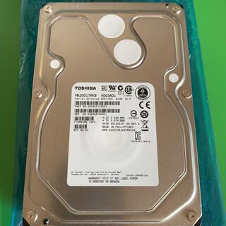 トウシバ(東芝)のTOSHIBA HDD 2TB SAS 7200rpm 16MB 3.5インチ(PCパーツ)
