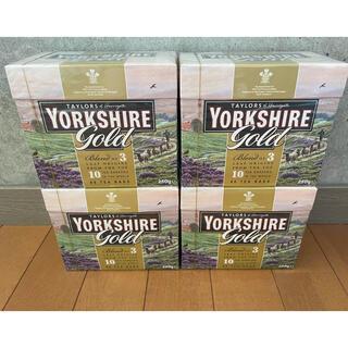 ヨークシャーティー  ゴールド 320バック(80バックx4箱) イギリス(茶)