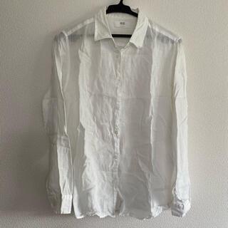 ユニクロ(UNIQLO)のユニクロ リネンシャツ(シャツ/ブラウス(長袖/七分))