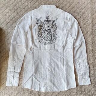 カスタムカルチャー(CUSTOM CULTURE)のCUSTOM CULTURE  ビーズ刺繍シャツ(シャツ)