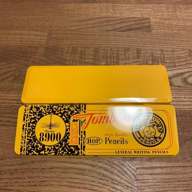 トンボ鉛筆(トンボエンピツ)のトンボえんぴつ 限定缶ペン インテリア/住まい/日用品の文房具(その他)の商品写真