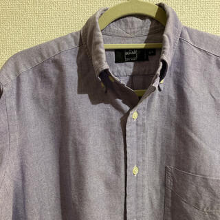 インディヴィジュアライズドシャツ(INDIVIDUALIZED SHIRTS)のIKE BEHAR(アイクベーハー)BDシャツ ブルー 14 1/2 - 32(シャツ)
