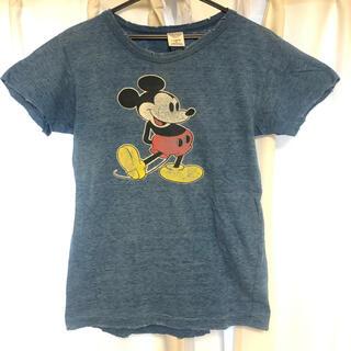 デニムダンガリー(DENIM DUNGAREE)のデニムダンガリー ミッキーTシャツ/460/160(Tシャツ(半袖/袖なし))