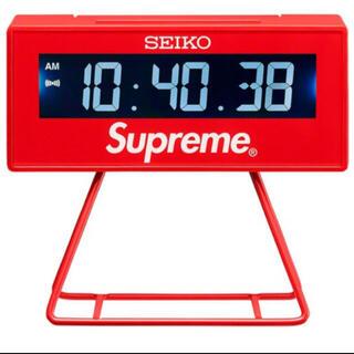 """シュプリーム(Supreme)のSupreme Seiko Marathon Clock """"Red""""2個セット(置時計)"""