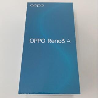 オッポ(OPPO)の未使用 OPPO Reno3 A(スマートフォン本体)