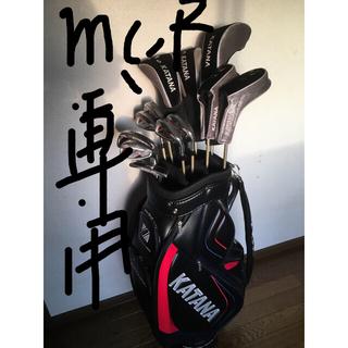 カタナ(KATANA)の人気のカタナゴルフ★メンズ ゴルフクラブのフルセット/キャディバッグ付(クラブ)