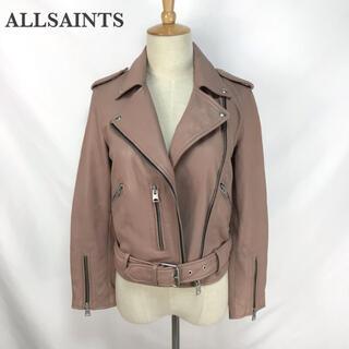 オールセインツ(All Saints)のALLSAINTS オールセインツ ライダースジャケット ブルゾン レディース(ライダースジャケット)
