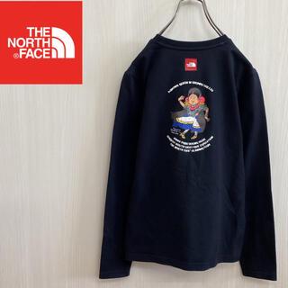 ザノースフェイス(THE NORTH FACE)のノースフェイス 長袖Tシャツ ロンT ブラック レディースS(Tシャツ(長袖/七分))