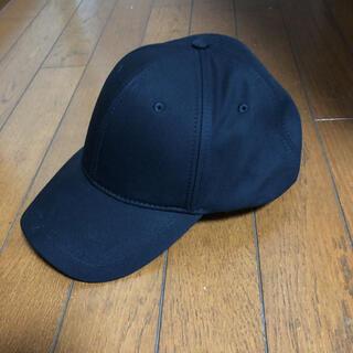 ザラ(ZARA)のベーシックキャップ 帽子 黒(キャップ)
