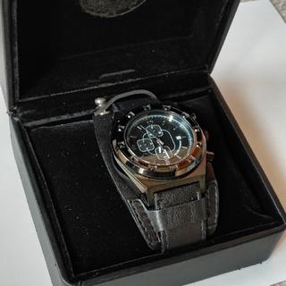 ニーキュウイチニーキュウゴーオム(291295=HOMME)の291295=HOMME クロノグラフ レザーブレスレット型 腕時計(腕時計(アナログ))