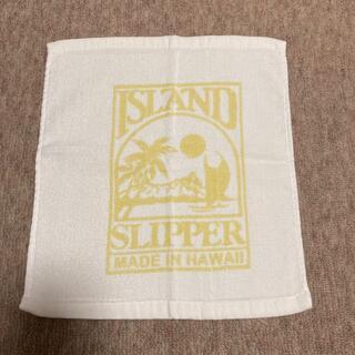 アイランドスリッパ(ISLAND SLIPPER)のハンドタオル(ハンカチ)