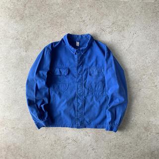 BEAMS - Eurowork jacket ユーロ古着 ジャケット ブルー ワーク