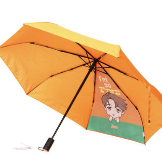 ボウダンショウネンダン(防弾少年団(BTS))のtiny tan 折り畳み傘(傘)