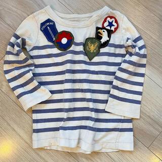 ゴートゥーハリウッド(GO TO HOLLYWOOD)のGO TO HOLLYWOOD ワッペン付き 長袖Tシャツ(Tシャツ/カットソー)
