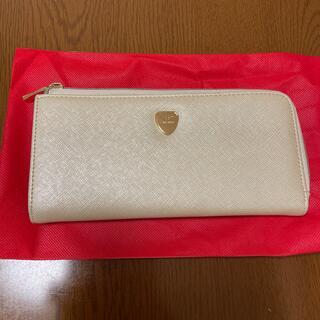 ハマノヒカクコウゲイ(濱野皮革工藝/HAMANO)の新品未使用HAMANO財布 白(財布)