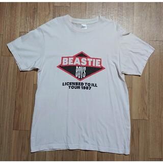 良品 BEASTIE BOYS ビースティボーイズ バンドTシャツ ホワイト L(Tシャツ/カットソー(半袖/袖なし))