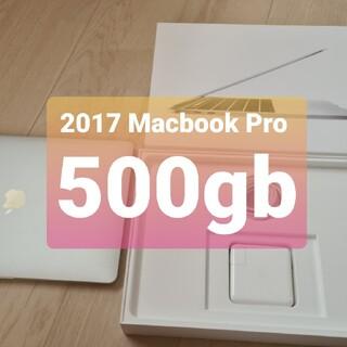 マック(Mac (Apple))の2017 Macbook pro 13 Touch bar SSD 500gb(ノートPC)