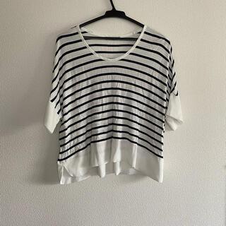 ザラ(ZARA)のZARAトップス(Tシャツ(半袖/袖なし))