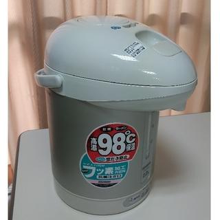 象印 - 象印 電気エアーポット マイコン沸騰 CW-PZ22-HH クリアグレー