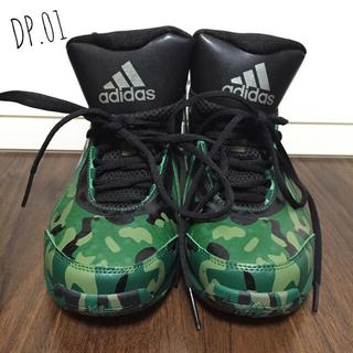 アディダス(adidas)の【激レア】DP.01カモフラ柄*24.5cm(スニーカー)