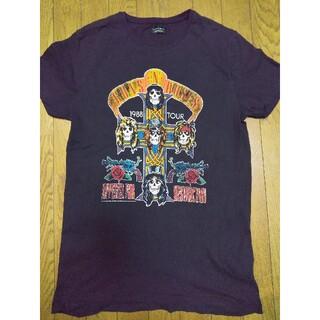 ザラ(ZARA)のザラ ガンズロックT Mサイズ女性でも🖤(Tシャツ(半袖/袖なし))