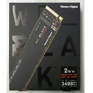 ウエスタンエディション(Western Edition)のWestern Digital Black SN750 SSD 2TB 新品(PC周辺機器)