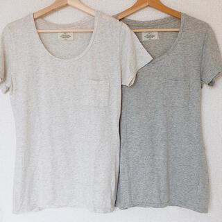 アングリッド(Ungrid)のUngrid アングリッド Tシャツ 2枚セット(Tシャツ(半袖/袖なし))