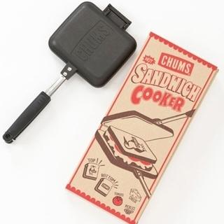 チャムス(CHUMS)のチャムスCHUMSホットサンドウィッチクッカー新品未使用(サンドメーカー)
