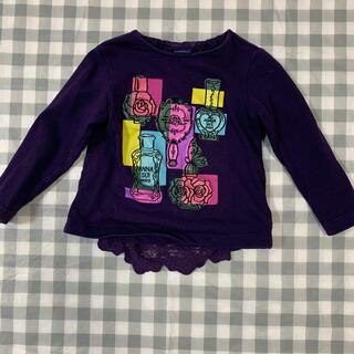 アナスイミニ(ANNA SUI mini)のアナスイミニ 香水Tシャツ 100(Tシャツ/カットソー)