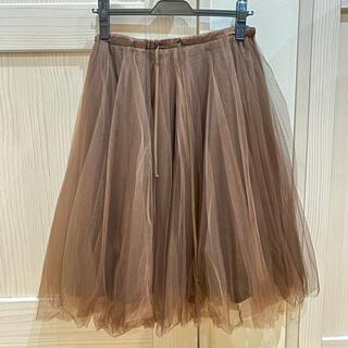 ウィルセレクション(WILLSELECTION)のWill selection チュールスカート(ひざ丈スカート)