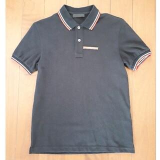 プラダ(PRADA)のプラダ ポロシャツ ブラック XS(ポロシャツ)