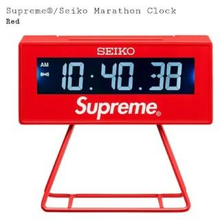 シュプリーム(Supreme)のSupreme®️/Seiko Marathon Clock(置時計)