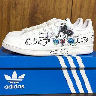 ディズニー(Disney)の【新品タグ付】adidas スタンスミス ミッキー スニーカー♡(スニーカー)