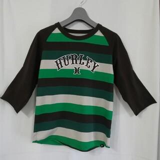 ハーレー(Hurley)の【USED】Hurley ハーレー ロゴ Tシャツ七分袖 Sサイズ(Tシャツ/カットソー(七分/長袖))