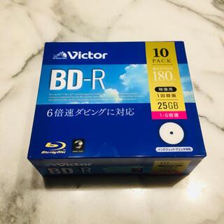 ビクター(Victor)の新品★ビクター 6倍速ダビング BD-R ブルーレイディスク 25GB 10枚(その他)