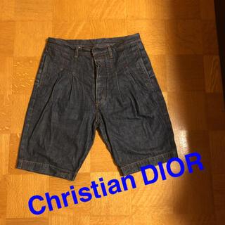 クリスチャンディオール(Christian Dior)のDIOR ハーフパンツ28インチ(ショートパンツ)