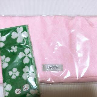 シャルレ - ★綿100%★ふわふわ★シャルレ フェイスタオル ピンク色 おまけつき