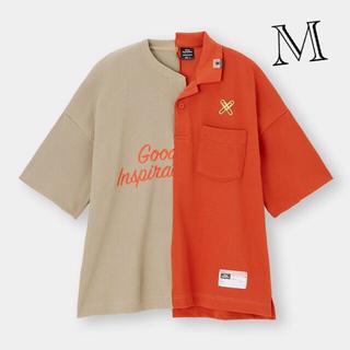 ミハラヤスヒロ(MIHARAYASUHIRO)のGU ミハラヤスヒロ 切り替え ドッキング  Tシャツ(Tシャツ/カットソー(半袖/袖なし))