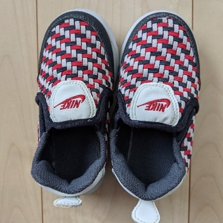 ナイキ(NIKE)の【美品】NIKEナイキ ベビー靴 スリッポン 14cm(スリッポン)