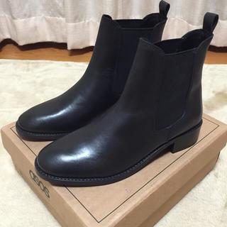 エイソス(asos)の最終値下げ☆【ASOS】サイドゴアショートブーツ(ブーツ)