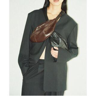 トゥデイフル(TODAYFUL)のDobby Linen Jacket 購入前にコメントお願いします(ノーカラージャケット)