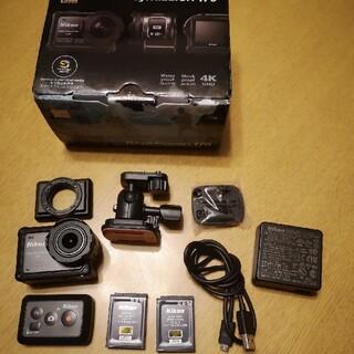 keymission 170 +純正バッテリー2個(コンパクトデジタルカメラ)