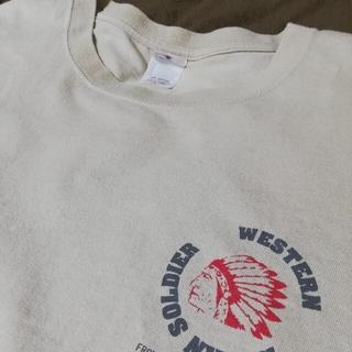 アンビル(Anvil)のanvil インディアン柄 ビッグTシャツ(Tシャツ/カットソー(半袖/袖なし))