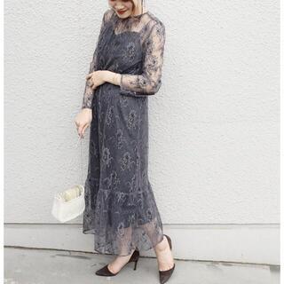 アーバンリサーチ(URBAN RESEARCH)のkaene レースワンピース ドレス(ロングドレス)