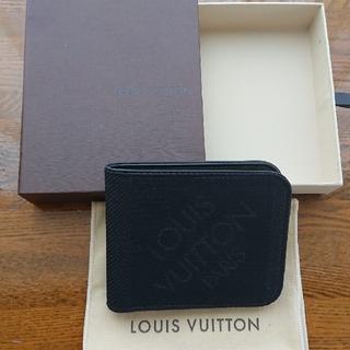 ルイヴィトン(LOUIS VUITTON)のルイ・ヴィトン メンズ 2つ折り お札入れ 財布(折り財布)